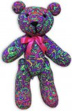 <img class='new_mark_img1' src='//img.shop-pro.jp/img/new/icons1.gif' style='border:none;display:inline;margin:0px;padding:0px;width:auto;' />【SPACETRIBE】Teddy Bear : Rainbow MiniMayan