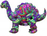 <img class='new_mark_img1' src='//img.shop-pro.jp/img/new/icons1.gif' style='border:none;display:inline;margin:0px;padding:0px;width:auto;' />【SPACETRIBE】Disco Dino : Rainbow Mayan