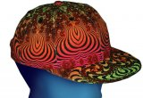 <img class='new_mark_img1' src='//img.shop-pro.jp/img/new/icons1.gif' style='border:none;display:inline;margin:0px;padding:0px;width:auto;' />【Space Tribe】 Spaceball Cap : Rainbow Fractal