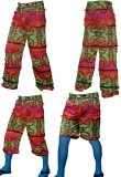 <img class='new_mark_img1' src='//img.shop-pro.jp/img/new/icons1.gif' style='border:none;display:inline;margin:0px;padding:0px;width:auto;' />【SPACETRIBE】PSY-TRAVELLER PANTS:RAINBOW FRACTAL
