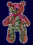 <img class='new_mark_img1' src='//img.shop-pro.jp/img/new/icons16.gif' style='border:none;display:inline;margin:0px;padding:0px;width:auto;' />【SPACETRIBE】TEDDY BEAR : RAINBOW FRACTAL