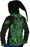<img class='new_mark_img1' src='//img.shop-pro.jp/img/new/icons1.gif' style='border:none;display:inline;margin:0px;padding:0px;width:auto;' />【SPACETRIBE】Morph Jacket Pixie Hood : Lime Mahakala