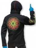 <img class='new_mark_img1' src='https://img.shop-pro.jp/img/new/icons1.gif' style='border:none;display:inline;margin:0px;padding:0px;width:auto;' />【SPACETRIBE】Morph Jacket Pixie Hood : Sacred Fire