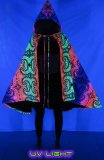 <img class='new_mark_img1' src='//img.shop-pro.jp/img/new/icons1.gif' style='border:none;display:inline;margin:0px;padding:0px;width:auto;' />【SPACETRIBE】Hooded Cape : Rainbow Fractal