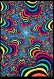 <img class='new_mark_img1' src='//img.shop-pro.jp/img/new/icons1.gif' style='border:none;display:inline;margin:0px;padding:0px;width:auto;' />【SPACETRIBE】UV Wallhanging : Rainbow Valley Fractal