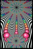 <img class='new_mark_img1' src='//img.shop-pro.jp/img/new/icons1.gif' style='border:none;display:inline;margin:0px;padding:0px;width:auto;' />【SPACETRIBE】UV Wallhanging : Psyblaster Fractal