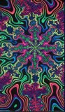 <img class='new_mark_img1' src='//img.shop-pro.jp/img/new/icons1.gif' style='border:none;display:inline;margin:0px;padding:0px;width:auto;' />【SPACETRIBE】UV Wallhanging : Spectral Flake Fractal