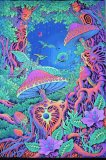 <img class='new_mark_img1' src='//img.shop-pro.jp/img/new/icons1.gif' style='border:none;display:inline;margin:0px;padding:0px;width:auto;' />【SPACETRIBE】UV Wallhanging : Psy Shroom
