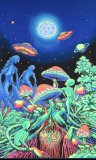 <img class='new_mark_img1' src='//img.shop-pro.jp/img/new/icons1.gif' style='border:none;display:inline;margin:0px;padding:0px;width:auto;' />【SPACETRIBE】UV Wallhanging : Alien Shrooms