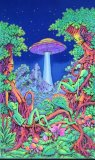 <img class='new_mark_img1' src='//img.shop-pro.jp/img/new/icons1.gif' style='border:none;display:inline;margin:0px;padding:0px;width:auto;' />【SPACETRIBE】UV Wallhanging : UFO Jungle