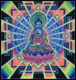 <img class='new_mark_img1' src='https://img.shop-pro.jp/img/new/icons16.gif' style='border:none;display:inline;margin:0px;padding:0px;width:auto;' />【SPACETRIBE】UV BANNER MANDALA BUDDHA