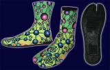 【SPACETRIBE】NINJA BOOT ATOMIC RAINBOW