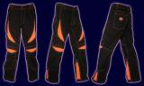 <img class='new_mark_img1' src='//img.shop-pro.jp/img/new/icons16.gif' style='border:none;display:inline;margin:0px;padding:0px;width:auto;' />【SPACETRIBE】ALIEN EYE PANTS : BLACK + UV ORANGE