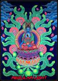 <img class='new_mark_img1' src='https://img.shop-pro.jp/img/new/icons24.gif' style='border:none;display:inline;margin:0px;padding:0px;width:auto;' />【SPACETRIBE】UV GIANT BANNER JUNGLY BUDDHA