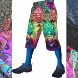 【SPACETRIBE】CYBER SHORTS:ALPHA CENTAURI