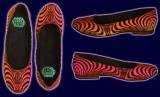 <img class='new_mark_img1' src='//img.shop-pro.jp/img/new/icons16.gif' style='border:none;display:inline;margin:0px;padding:0px;width:auto;' />【SPACETRIBE】BALLERINA SHOES : RAINBOW FRACTAL