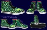 【SPACETRIBE】SPACETRIBE ALLSTARS + SIDE ZIP  : JUNGLE DRAGONFLY