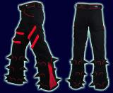 <img class='new_mark_img1' src='//img.shop-pro.jp/img/new/icons16.gif' style='border:none;display:inline;margin:0px;padding:0px;width:auto;' />【SPACETRIBE】SPIKEY PANTS:BLACK & RED