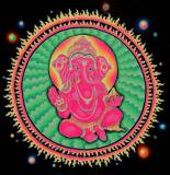 <img class='new_mark_img1' src='//img.shop-pro.jp/img/new/icons16.gif' style='border:none;display:inline;margin:0px;padding:0px;width:auto;' />【SPACETRIBE】UV BANNER PINK GANESHA