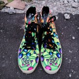 <img class='new_mark_img1' src='https://img.shop-pro.jp/img/new/icons1.gif' style='border:none;display:inline;margin:0px;padding:0px;width:auto;' />【SPACETRIBE】SPACEBALL BOOTS : ATOMIC RAINBOW