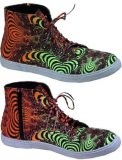 <img class='new_mark_img1' src='https://img.shop-pro.jp/img/new/icons1.gif' style='border:none;display:inline;margin:0px;padding:0px;width:auto;' />【SPACETRIBE】SPACEBALL BOOTS : RAINBOW FRACTAL