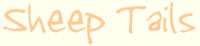 【シープテイルス】輸入毛糸とリボン