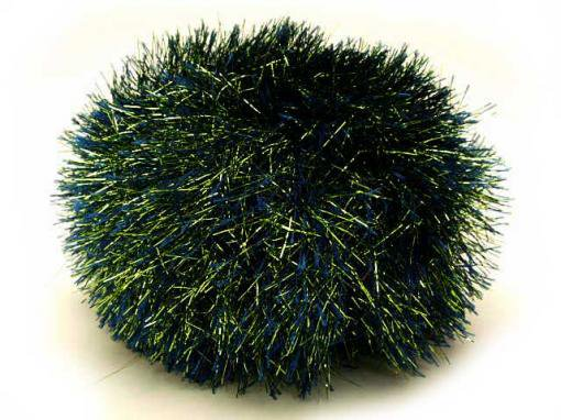 Metallic Eyelash [Navy Green]