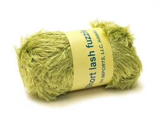 Short Lash Fuzzie [Moss Green]