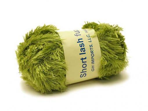 Short Lash Fuzzie [Olive]