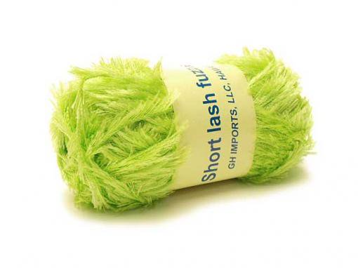 Short Lash Fuzzie [Apple Green]
