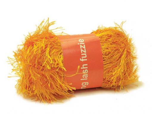 Long Lash Fuzzie [Orange]