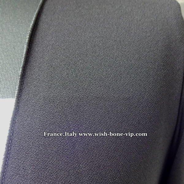 【イタリア製/RINASCIMENTO/リナシメント】薄地アシンメトリー ロングカーディガン/ブラックの画像