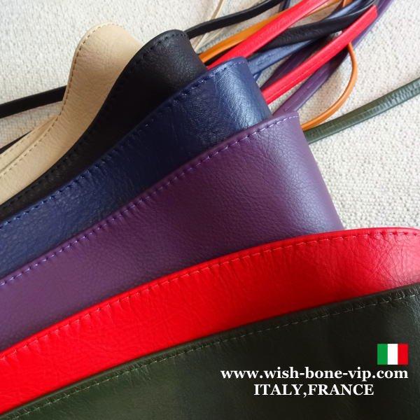 【イタリア製MadeinITALY】本革レザー・ロング ラップ巻きデザインベルト/グリーンの画像