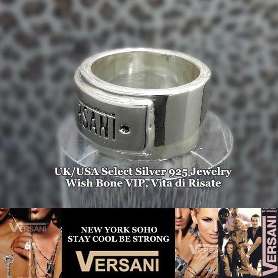 NEW YORK|VERSANI/ベルサーニ|シルバー925|ロゴ入りリング/プレーンの画像