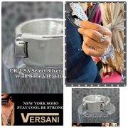 NEW YORK|VERSANI/ベルサーニ|シルバー925 リング/プレートデザインプレーン