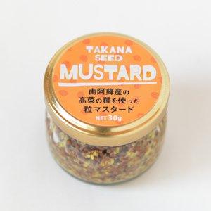 阿蘇高菜の粒マスタード(農薬不使用・阿蘇高菜の種を使用) 30g