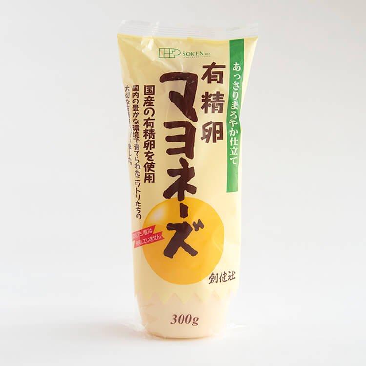 創健社 有精卵マヨネーズ(九州久住高原の有精卵使用) 300g