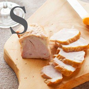 スモークチキン【S】101〜150g 【冷凍】(きくち村の赤どり)