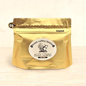 岩下珈琲 アチェ・ルワック(挽き豆)100g (農薬不使用コーヒー・インドネシア産)