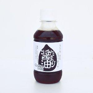 たまり醤油200ml (グルテンフリー、小麦不使用、化学添加物不使用)