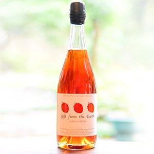 【酸化防止剤・無添加】いちごのスパークリング ワイン Gift from the Earth〜大地からの贈り物〜 750ml
