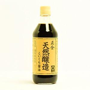 天然醸造醤油 こいくち (正金醤油) 500ml