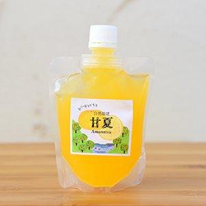 自然栽培「生」甘夏ジュース 150ml【冷凍】