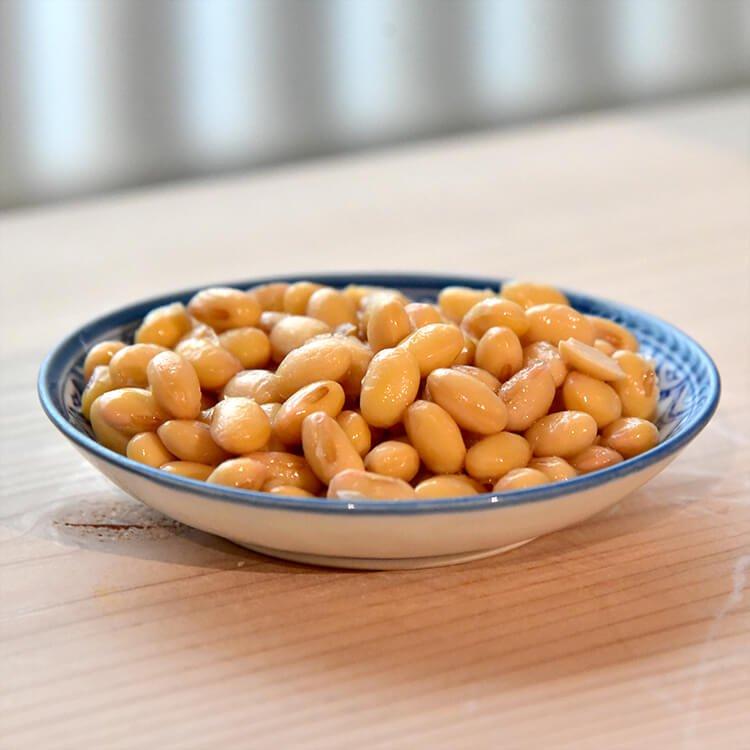 自然栽培大豆の水煮(ハッテング)100g【冷凍】