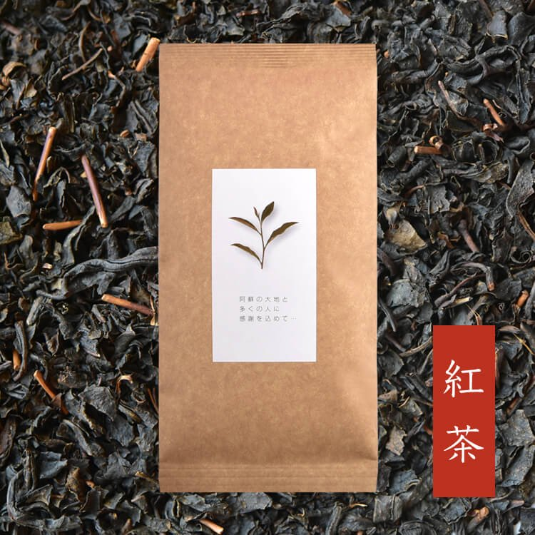 高島さんの紅茶 40g(南阿蘇産・自然栽培)