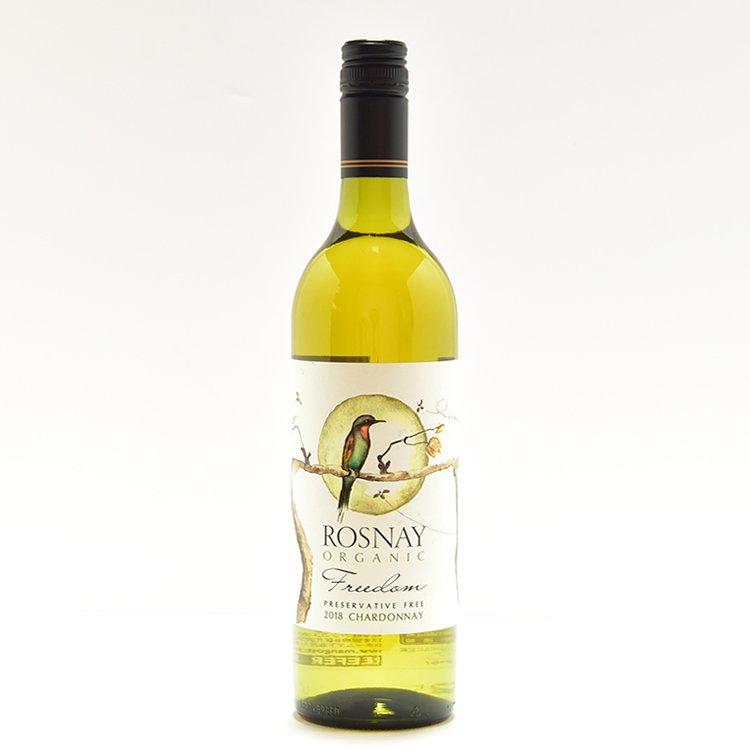 【酸化防止剤・無添加】ビオワイン【白】ロズネー フリーダムホワイト 750ml