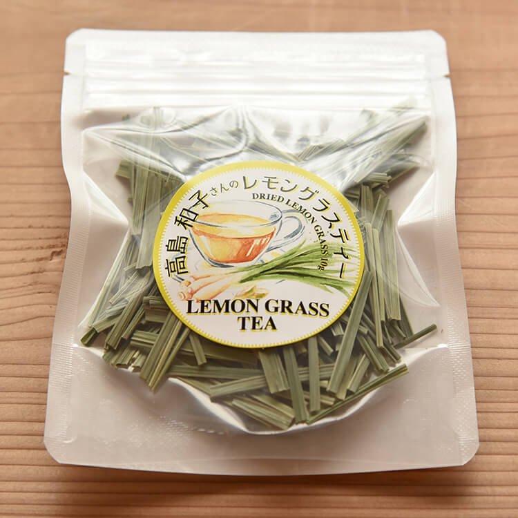 高島さんの自然栽培レモングラスティー 10g