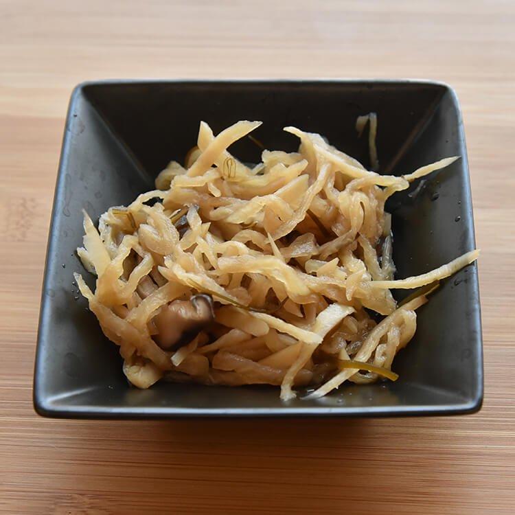 自然栽培切干し大根の煮物 100g【冷凍】