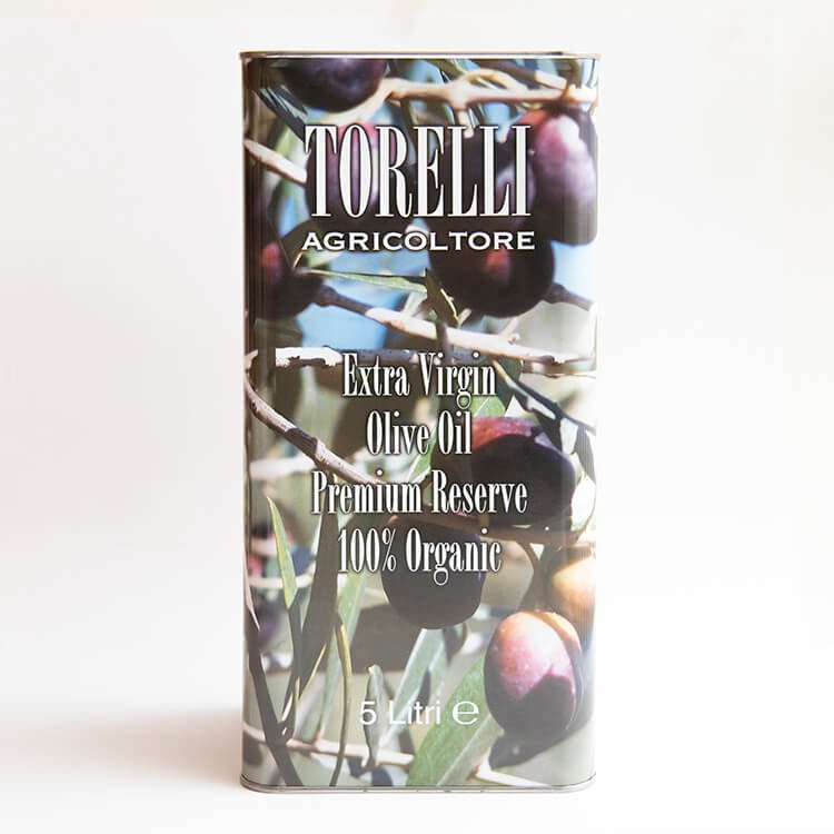 TORELLI 有機エクストラバージンオリーブオイル(イタリア産) 5L