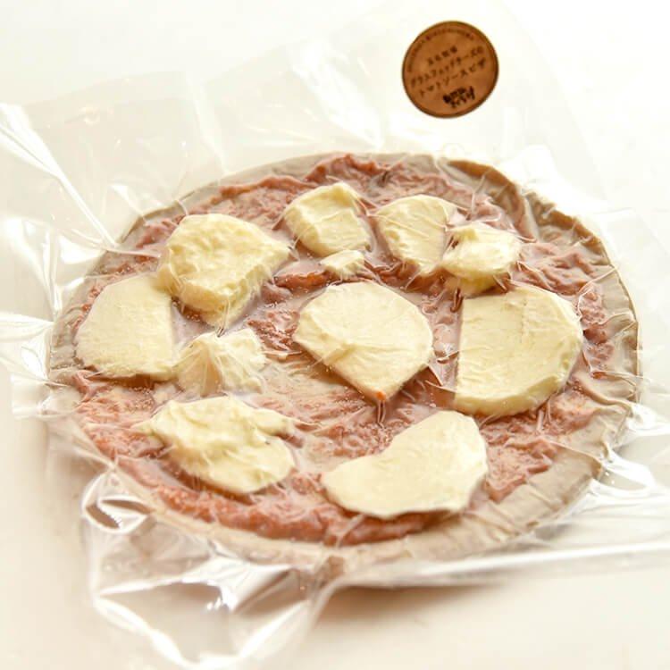 (きくち村オリジナル)グラスフェッドチーズのトマトソースピザ 直径約21cm【冷凍】